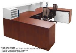 Receptions Desks White 2 Tone Reception Desks In Stock Free Shipping