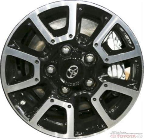 Toyota Tundra Factory Wheels Oem Toyota Tundra Black Alloy 42611 0c170 Fits 2014