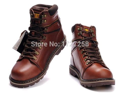 Longch Cuir Leather S Original fashion brand high help martin boots mens casual boots