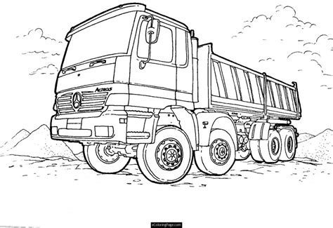 Semi Coloring Pages by Semi Truck Coloring Pages Az Coloring Pages