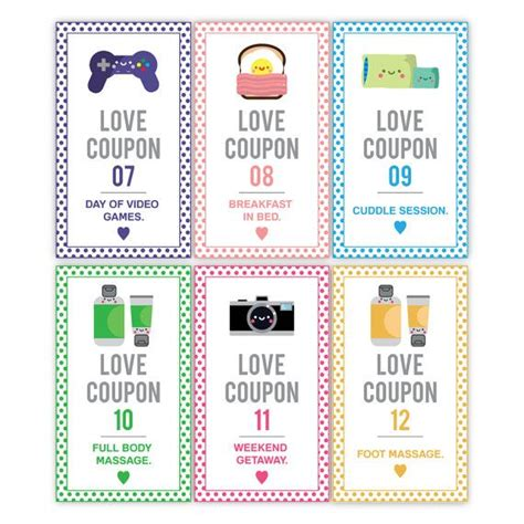printable love coupon ideas for him 25 best ideas about love coupons for him on pinterest