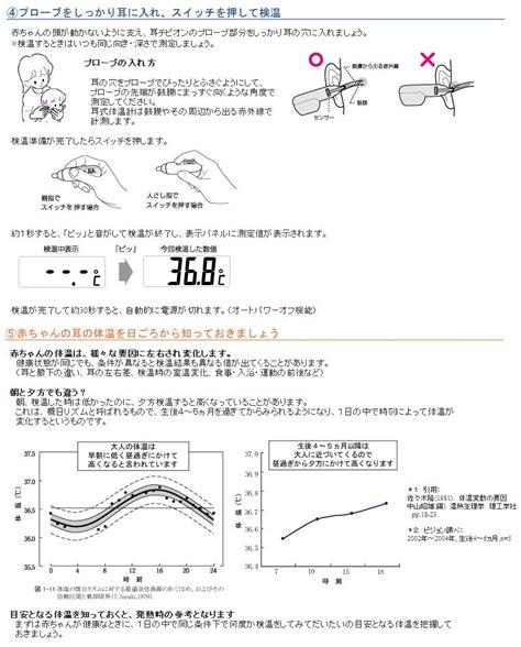 Termometer Pigeon babyshop rakuten global market pigeon ear thermometers