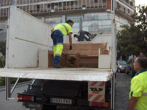 recogida de muebles ayuntamiento el ayuntamiento refuerza el servicio de recogida de