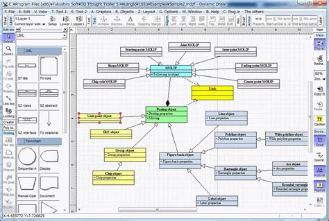 free flowchart software dynamic draw for flowcharts and uml diagrams