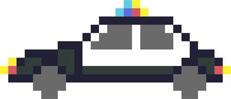 pixel car pixel art voiture de police