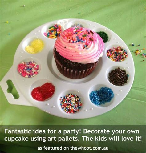 Decorate Your Own Cupcake by Idea For A Birthday Trusper