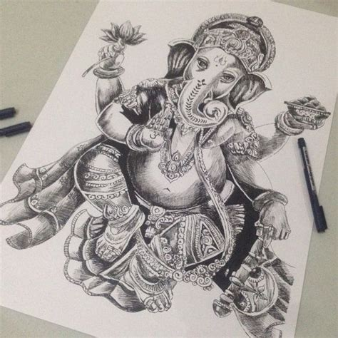 tattoo pen south africa 17 best images about ganesha on pinterest hand drawings