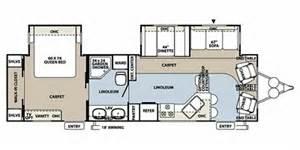 Flagstaff Travel Trailer Floor Plans by 2011 Forest River Flagstaff Classic Super Lite 831flss
