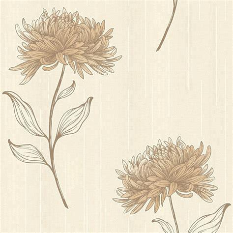 flower wallpaper home decor fine decor amelia floral wallpaper cream beige fd31380