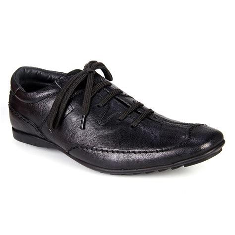 buy buckaroo genuine leather casual shoes black 2193