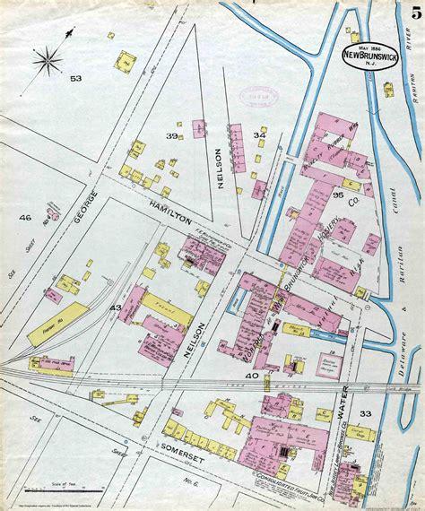 sanborn insurance maps new brunswick new jersey sanborn maps