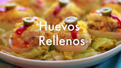 www youtube recetas de cocina huevos rellenos recetas de cocina f 225 cil youtube
