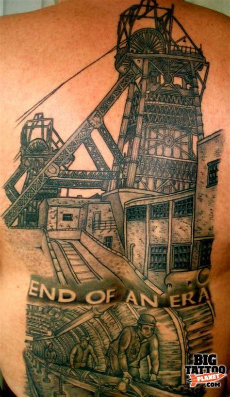 coal miner tattoos fleet black and grey big planet