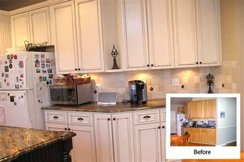 kitchen cabinet refacing ideas couchableco in kitchen refacing before and after white kitchen cabinet