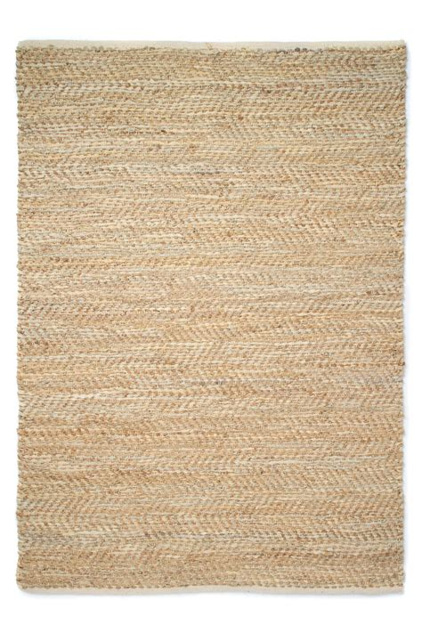 rug in jute and leather rug collection connection