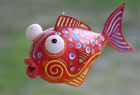 How To Make A Paper Mache Fish - paper mache fish ideas images