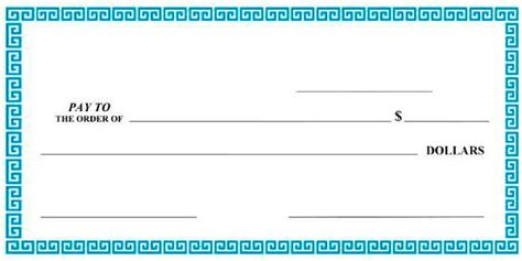 Best Photos Of Mock Check Template Blank Check Template Mock Cheque Template