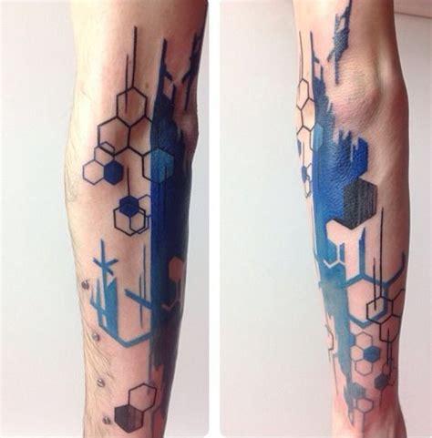 tattoo geometric uk geometric skin pinterest brush stroke tattoo brush