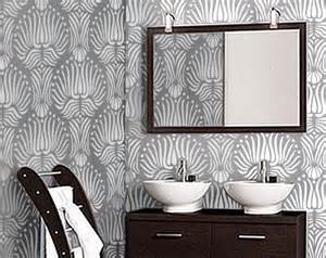 deco wall decor art deco flower pattern wall stencil reusable diy home decor oliveleafstencils handmade