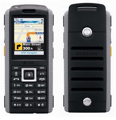 at t rugged cell phones at t samsung sgh a657 rugged phone itech news net