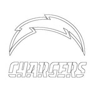 free coloring pages san diego chargers logo