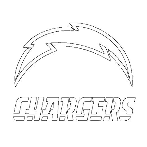nfl chargers coloring pages san diego chargers free coloring pages