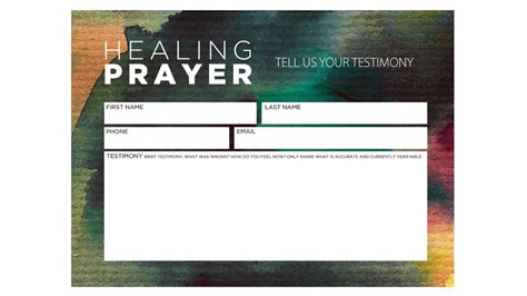 Blank Template For Holy Cards by Prayer Request Cards Templates Vintage Church Resources