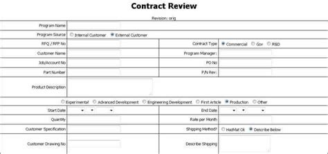 How To Create A Quality Control Plan Jnf Specialties As9100 Contract Review Checklist Template
