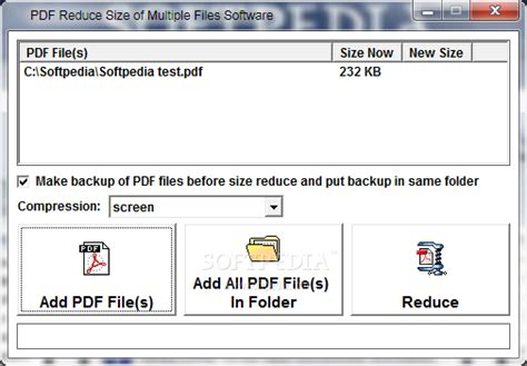 compress pdf size software pdf reduce size of multiple files software download