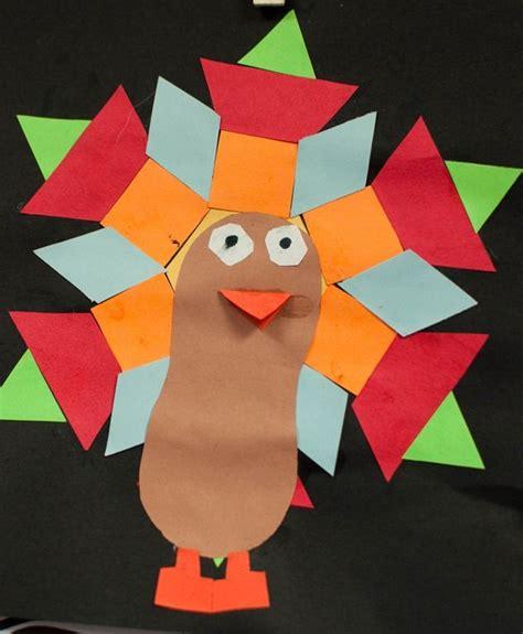 pinterest pattern block turkey math turkey feather shapes november teaching ideas