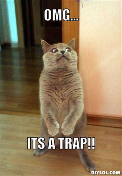 Cat Trap Meme - archivo horrorcat meme generator omg its a trap b162f9 jpg