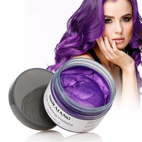 temporary hair dye product mofajang unisex diy hair color wax mud dye cream temporary
