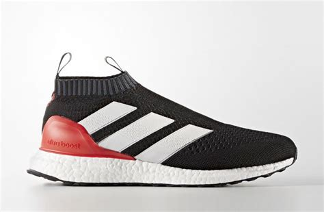 Adidas Ultra Boost Ace 16 Black Bred adidas ace 16 purecontrol ultra boost black sneakerb0b releases