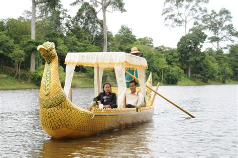 gondola boat siem reap gondola sunset boat rides asiavacations