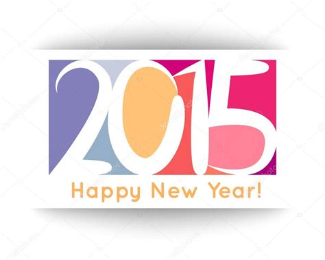 happy new year 2015 banner happy new year 2015 banner vector illustration for