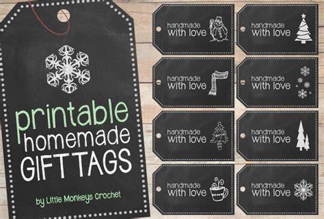 free printable chalkboard christmas gift tags free printable handmade chalkboard gift tags little