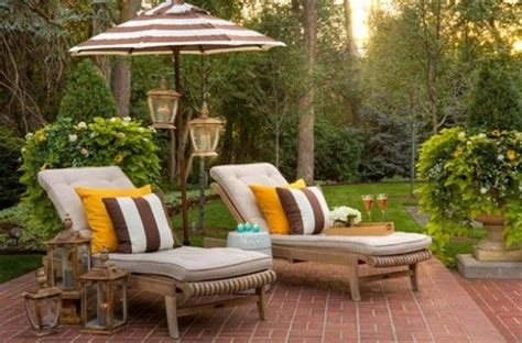 cozy backyard patios cozy patio design with lounger chair home designs
