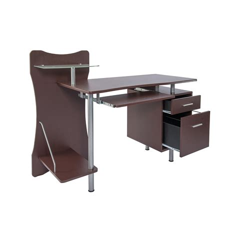 techni mobili computer desk techni mobili stylish computer desk with storage ojcommerce