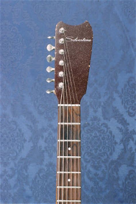 Garage Rock Guitar Tone by Garage Band Machine Vintage 1964 Silvertone 1457