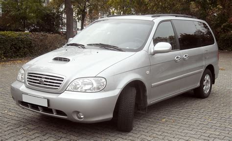 2001 Kia Carnival 2001 Kia Carnival Up Pictures Information And Specs