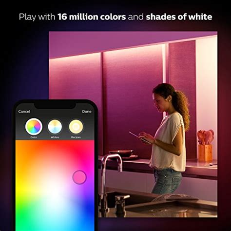 Philips 800284 Hue Lightstrip Plus philips hue white and color ambiance lightstrip plus