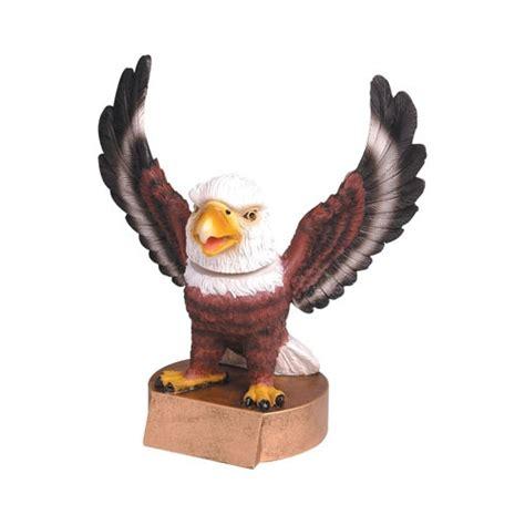 bobblehead t trophies eagle mascot bobble trophies