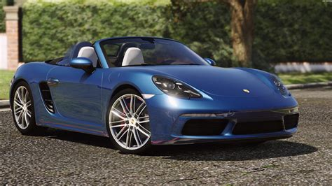 Porsche 718 Boxster S by Porsche 718 Boxster S Add On Replace Gta5 Mods