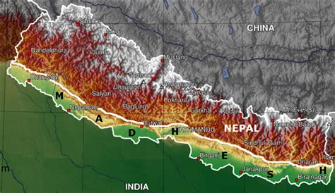 nepal new land alliance for independent madhesh aim 187 geography