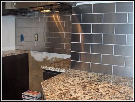 stainless steel tile backsplash ideas memes stainless steel subway tiles backsplash tiles home