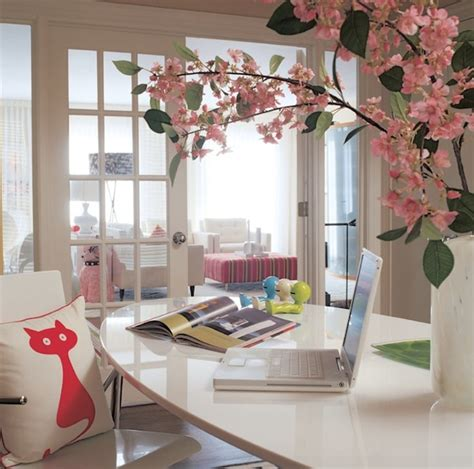 flowers for office desk how to refresh your winter home office