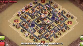 Th6 defense hybrid th6 amp th7 farming and war base layouts with new air