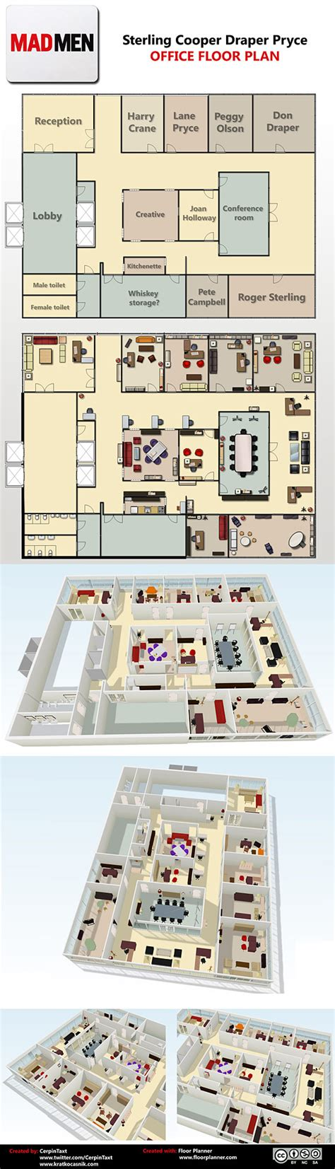 men floor plan see a floor plan of the mad men office vulture