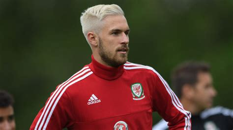 Aaron Ramsey Bleaches Hair For Wales Euro 2016 Caign | aaron ramsey bleaches hair for wales euro 2016 caign
