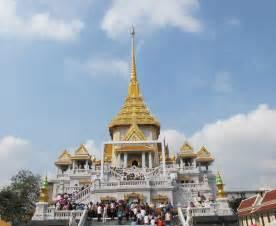 Golden buddha temple in bangkok